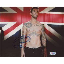 "Adam Levine Signed ""Maroon 5"" 8x10 Photo (PSA COA)"