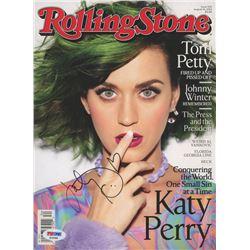 Katy Perry Signed 2014 Rolling Stone Magazine (PSA Hologram)
