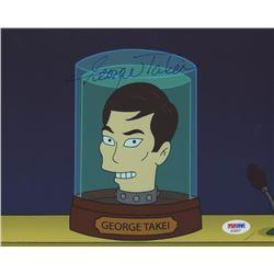 """George Takei Signed """"Futurama"""" 8x10 Photo (PSA COA)"""