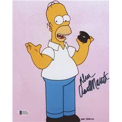 "Dan Castellaneta Signed ""The Simpsons"" 8x10 Photo (Beckett COA)"