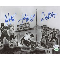 "Terry O'Reilly, John Wensink,  Stan Jonathan Signed ""Big Bad Bruins"" 8x10 Photo (JSA COA)"