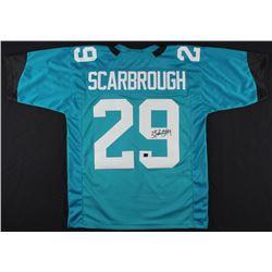 Bo Scarbrough Signed Jaguars Jersey (Scarbrough Hologram)