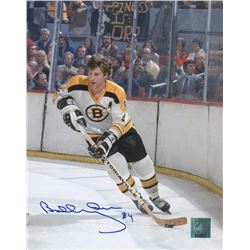 "Bobby Orr Signed Bruins ""Happiness is Orr"" 8x10 Photo (Great North Road COA)"