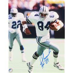 Jay Novacek Signed Cowboys 11x14 Photo (Pro Player Hologram)