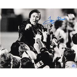 Tom Flores Signed Raiders 11x14 Photo (Pro Player Hologram)