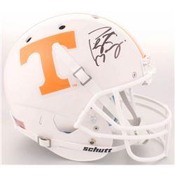 Peyton Manning Signed Tennessee Volunteers Full-Size Helmet (Fanatics Hologram)