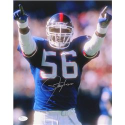 Lawrence Taylor Signed Giants 11x14 Photo (JSA COA)