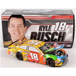 Kyle Busch Signed NASCAR #18 2018 MM's Camry - 1:24 Premium Action Diecast Car (PA COA)