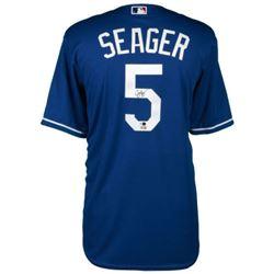 Corey Seager Signed Dodgers Jersey (MLB Hologram  Fanatics Hologram)