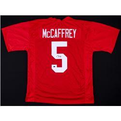 Christian McCaffrey Signed Stanford Cardinals Jersey (JSA COA  McCaffrey Hologram)