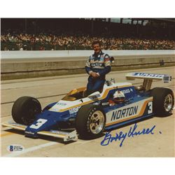 Bobby Unser Signed 8x10 Photo (Beckett COA)