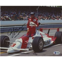 Rick Mears Signed NASCAR 8x10 Photo (Beckett COA)