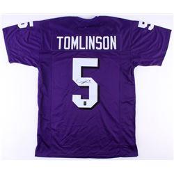 LaDainian Tomlinson Signed TCU Horned Frogs Jersey (JSA COA  Tomlinson Hologram)