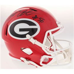 Geno Atkins Signed Georgia Bulldogs Full-Size Speed Helmet (Radtke COA)