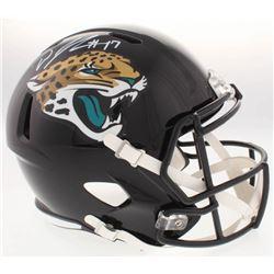 D.J. Chark Signed Jaguars Full-Size Speed Helmet (Radtke COA)
