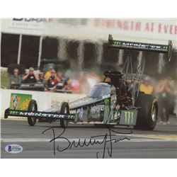 Brittany Force Signed 8x10 Photo (Beckett COA)