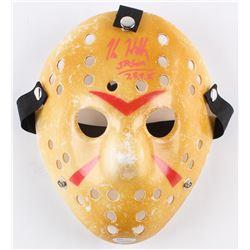 "Kane Hodder Signed ""Friday the 13th"" Mask Inscribed ""Jason 7, 8, 9, X"" (JSA COA)"