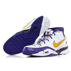 "Kobe Bryant Signed Pair of (2) LE Nike Kobe 1 Protro Basketball Shoes Inscribed ""Black Mamba"" (Panin"