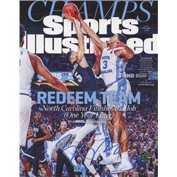 Kennedy Meeks Signed North Carolina Tar Heels Sports Illustrated Magazine 8x10 Photo (Legends COA)