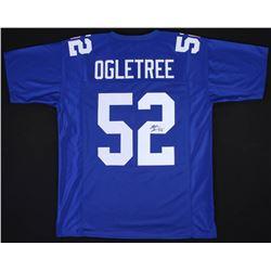 Alec Ogletree Signed Giants Jersey (JSA COA)