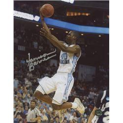 Harrison Barnes Singed North Carolina Tar Heels 8x10 Photo (Legends COA)