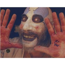 Sid Haig Signed  The Devil's Rejects  8x10 Photo (Legends COA)
