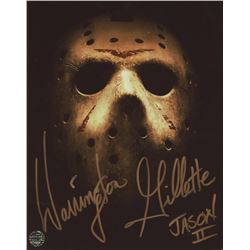 "Warrington Gillette Signed ""Friday the 13th"" 8x10 Photo Inscribed ""Jason II"" (Legends COA)"