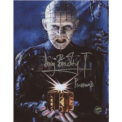 Doug Bradley Signed  Hellraiser  8x10 Photo Inscribed  Pinhead  (Legends COA)