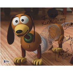 "Blake Clark Signed ""Toy Story"" 8x10 Photo Inscribed ""I Got A Kink in My Slink""  ""Slinky"" (Beckett CO"