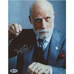 Vint Cerf Signed 8x10 Photo (Beckett COA)