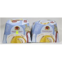LOT OF TWO TRE MARIE CAKES