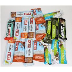 BAG OF ASSORTED PROTEIN BARS