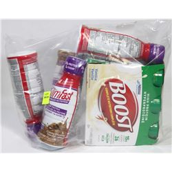 BAG OF ASSORTED MEAL SUPPLEMENT BARS