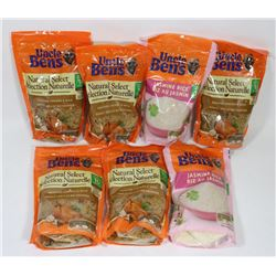 BAG OF UNCLE BENS RICE