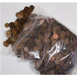 1500 LINCOLN WHEAT CENTS