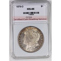 1879-O MORGAN CCGS SUPERB BU