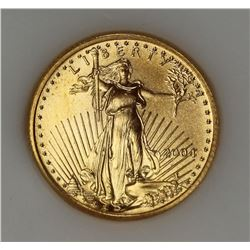 2004 AMERICAN GOLD EAGLE $5 1/10 OZ.