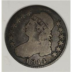 1814 BUST HALF DOLLAR