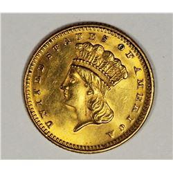 1873 GOLD DOLLAR GEM BU