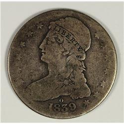 1839-O BUST HALF DOLLAR