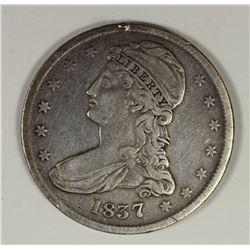 1837 BUST HALF DOLLAR VF/XF