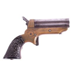 C. Sharps & Co. 22 LR Model 1 Pepperbox w/ Holster