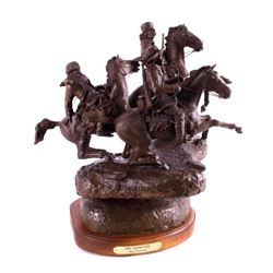 "Original G.C. Wentworth ""The Voyageurs"" Bronze"