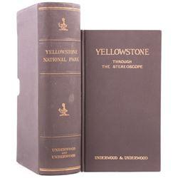 Yellowstone National Park Stereoview Set c.1909