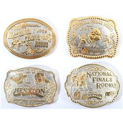 Gold & Silver Plated National Rodeo Buckles