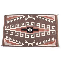 Navajo Teec Nos Pos Hand Woven Wool Rug
