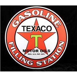 Texaco Motor Oil Advertisement Sign