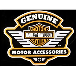 Harley-Davidson Motor Cycles Advertising Sign