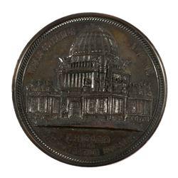1893 Columbian Exposition Rambler Bicycle Coin