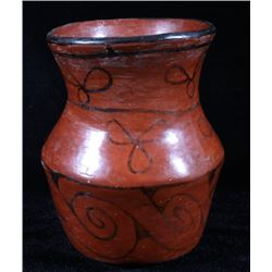 Native American Glazed Maricopa Pottery Jar